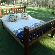 Recycled Timber Furniture - Bed